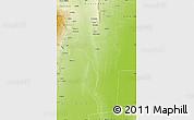 Physical Map of Choya