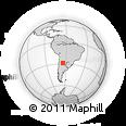 Outline Map of Choya