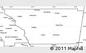 Blank Simple Map of General Taboada
