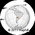 Outline Map of Guasayan
