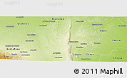 Physical Panoramic Map of Guasayan