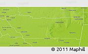 Physical 3D Map of Juan F. Ibarra