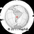 Outline Map of Juan F. Ibarra