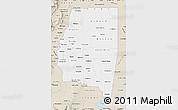 Classic Style Map of Santiago del Estero
