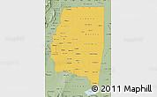 Savanna Style Map of Santiago del Estero