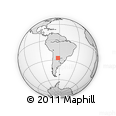Outline Map of Moreno