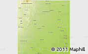 Physical 3D Map of Pellegrini