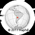 Outline Map of Pellegrini