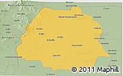 Savanna Style Panoramic Map of Pellegrini