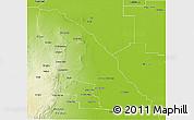 Physical 3D Map of Quebrachos