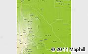 Physical Map of Quebrachos
