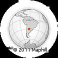 Outline Map of Quebrachos