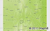 Physical Map of Rio Hondo