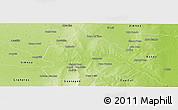 Physical Panoramic Map of Rio Hondo
