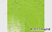 Physical Map of Salavina