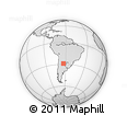 Outline Map of Salavina