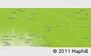 Physical Panoramic Map of Salavina