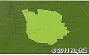 Physical 3D Map of San Martin, darken