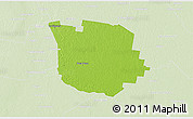 Physical 3D Map of San Martin, lighten