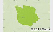 Physical Map of San Martin, lighten
