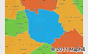 Political Map of San Martin