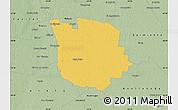 Savanna Style Map of San Martin