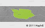 Physical Panoramic Map of San Martin, desaturated