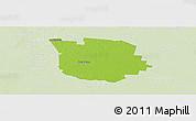 Physical Panoramic Map of San Martin, lighten