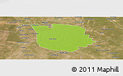 Physical Panoramic Map of San Martin, satellite outside