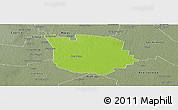 Physical Panoramic Map of San Martin, semi-desaturated
