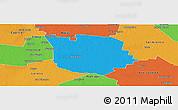 Political Panoramic Map of San Martin