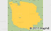 Savanna Style Simple Map of San Martin