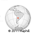 Outline Map of Sarmiento