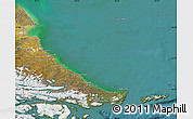 Satellite Map of Tierra del Fuego
