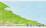 Physical Panoramic Map of Rio Grande