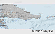 Gray 3D Map of Ushuaia (Is.)