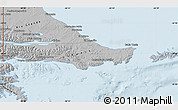 Gray Map of Ushuaia (Is.)