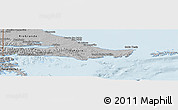 Gray Panoramic Map of Ushuaia (Is.)