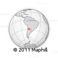 Outline Map of Alberdi