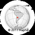 Outline Map of Burruyacu