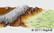 Physical Panoramic Map of Chicligasta