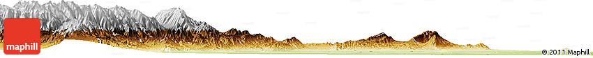 Physical Horizon Map of Tucuman