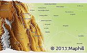 Physical 3D Map of La Cocha