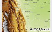 Physical Map of La Cocha