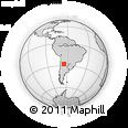 Outline Map of La Cocha