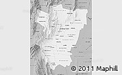 Gray Map of Tucuman