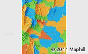 Political Map of Tucuman