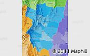 Political Shades Map of Tucuman
