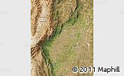 Satellite Map of Tucuman