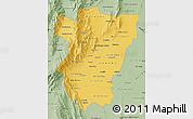 Savanna Style Map of Tucuman